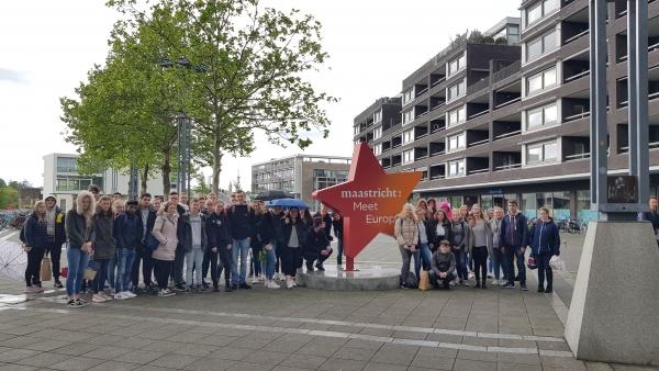 Europaschule Rheinberg meets Maastricht meets Europe