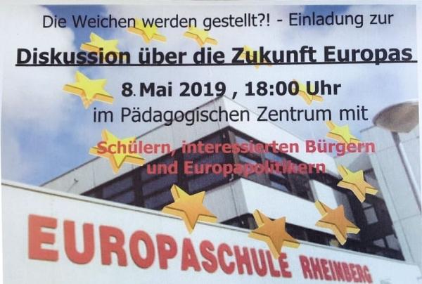 Diskussion über die Zukunft Europas