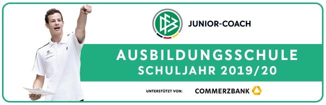 Ausbildungsschule JC Banner quer 1920